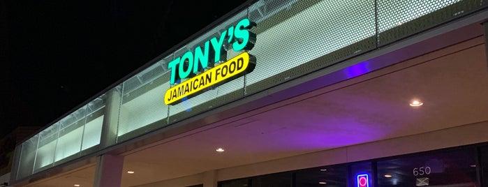 Tony's Jamaican Food is one of Josh 님이 좋아한 장소.