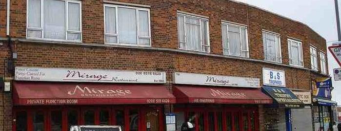 Mirage is one of Restaurants.