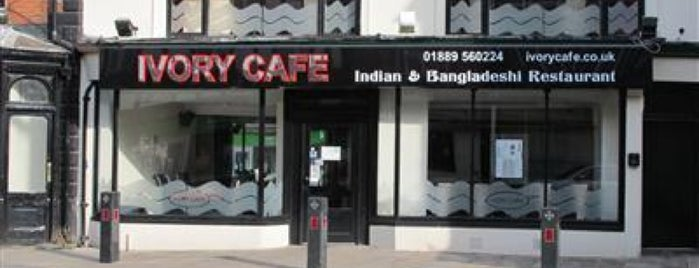 Ivory Café is one of Restaurants.