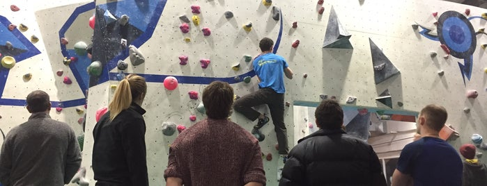 The Climbing Unit is one of Rock Climbing Gyms.