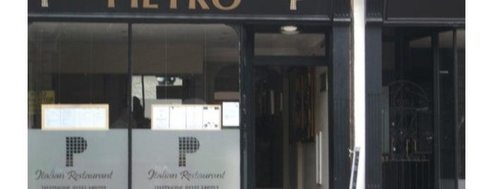 Pietro is one of Restaurants.