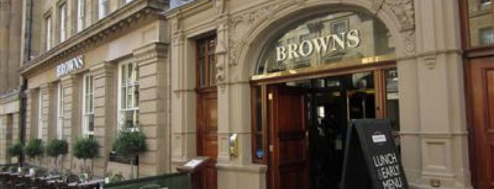 Browns is one of Restaurants.