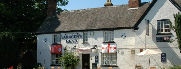 The Saracens head is one of Restaurants.