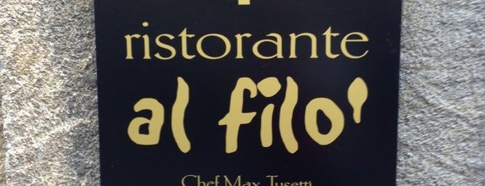 Al Filò is one of Risto visitati.