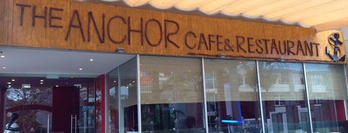 The Anchor Cafe & Restaurant is one of Ilona : понравившиеся места.