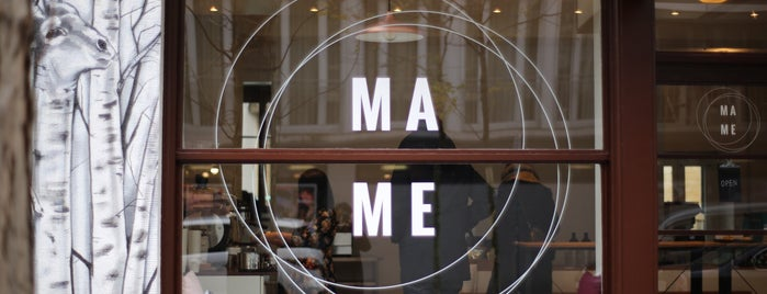 MAME is one of Zürich ••Spotted••.