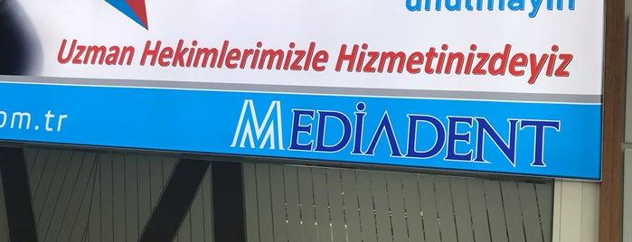 Mediadent Ağız ve Diş Sağlığı Polikliniği is one of Tempat yang Disimpan Gül.