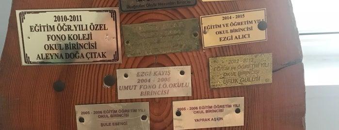 Özel Fono Koleji is one of Lieux qui ont plu à EVŞEN.