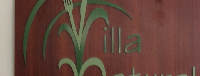 Villa Natural Restaurante Vegetariano is one of Comer.