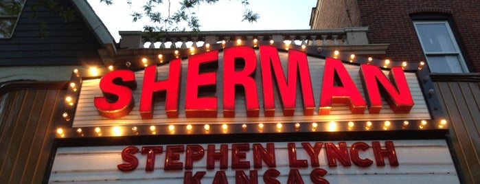 Sherman Theater is one of Lieux qui ont plu à Shawntini.