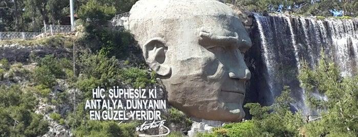 Atatürk Heykeli is one of Antalya.