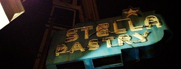 Stella Pastry and Cafe is one of Cafes/Restaurants SF Done.