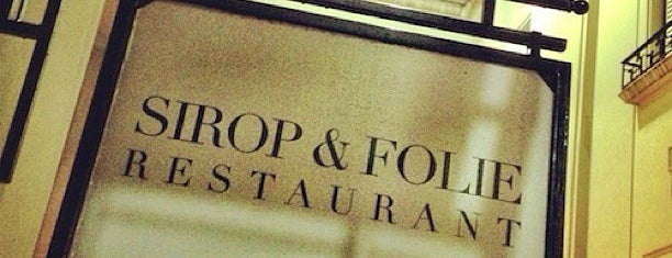 Sirop Folie is one of To-Do Gourmet.