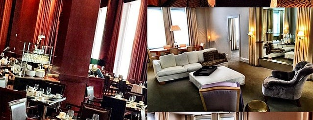 The Clift Royal Sonesta Hotel is one of SF places.
