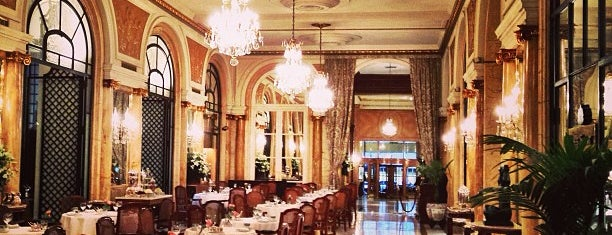 Alvear Palace Hotel is one of cafes.