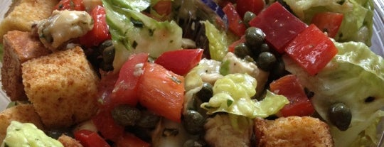 Giardino Gourmet Salads is one of Coral Gables Recommended Weekday Lunch Spots.