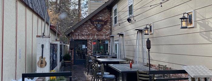 Fire Rock Burgers & Brews is one of Big Bear & Arrowhead.