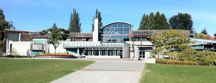 Shadbolt Centre for the Arts is one of Beautiful British Columbia we've been in...