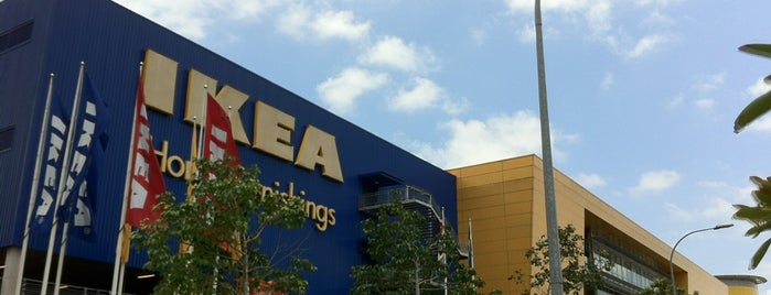 IKEA is one of Orte, die 冰淇淋 gefallen.