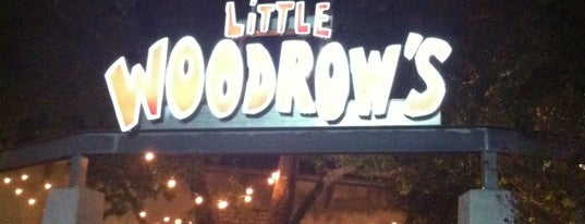Little Woodrow's is one of Places to eat.