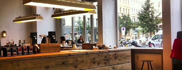 The Barn - Roastery is one of Berlin's cake and coffee heaven....