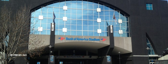 Bank of America Stadium is one of All Things Sporting Venues....