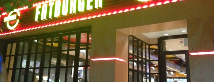 Fatburger is one of Favourite NYC Spots.