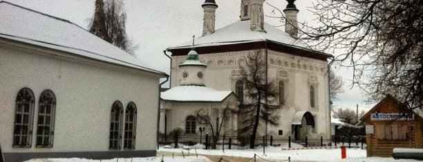 Ризоположенский женский монастырь is one of Суздаль.