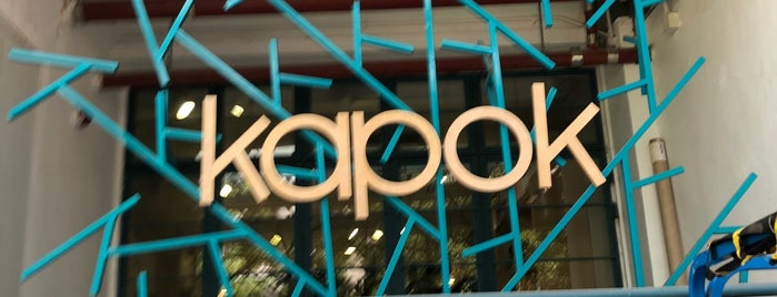 Kapok is one of Hong Kong.