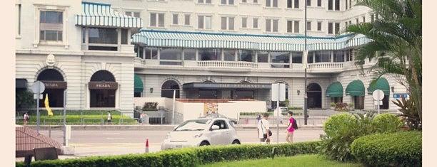 ザ・ペニンシュラ香港 is one of Condé Nast Traveler Platinum Circle 2013.