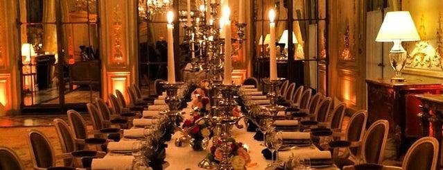 Restaurant Le Meurice Alain Ducasse is one of Paris Eating.