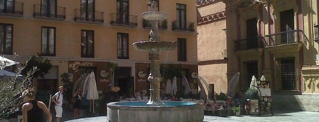 Plaza del Obispo is one of Malaga, Spain.
