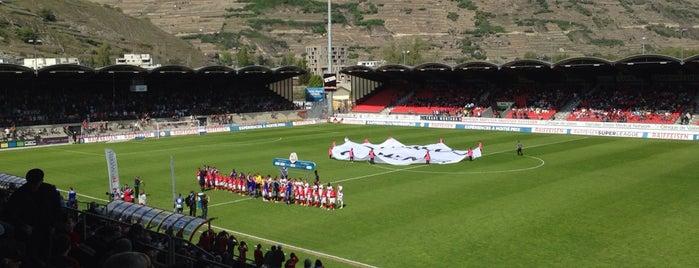 Stade de Tourbillon is one of Big Matchs's Today!.