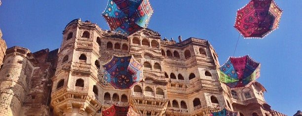 Mehrangarh Fort is one of Best Asian Destinations.