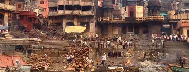 Manikarnika Ghat - Burning Ghat is one of Incredible India.