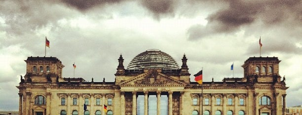 Reichstag is one of [To-do] Berlin.