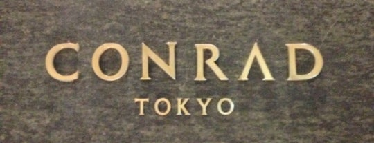 Conrad Tokyo is one of Favourite Hotels.