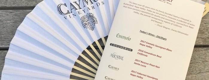 Caymus Vineyards is one of Wine Country.
