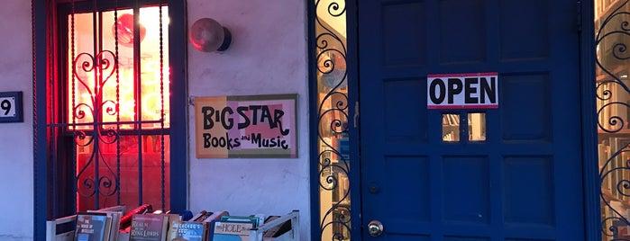 Big Star Books is one of Locais curtidos por liz.