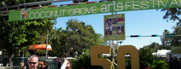 Coconut Grove Arts Festival is one of Lieux qui ont plu à David.