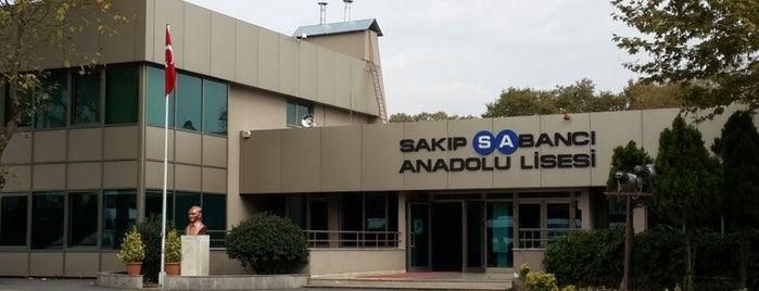 Sakıp Sabancı Anadolu Lisesi is one of Loresimaqqさんのお気に入りスポット.