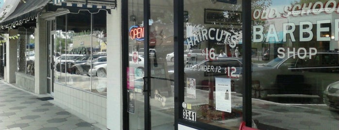 Old School Barber Shop is one of Clarkさんのお気に入りスポット.