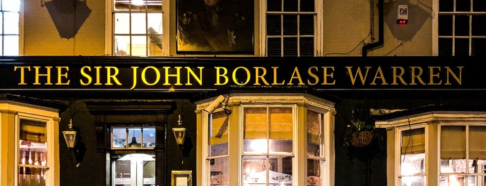 The Sir John Borlase Warren is one of Lugares favoritos de Carl.
