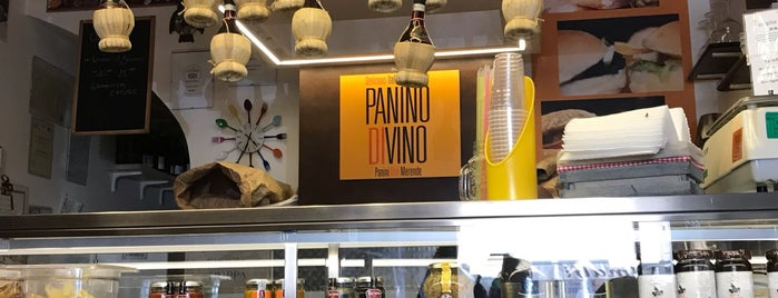 Panino Divino is one of Rom.