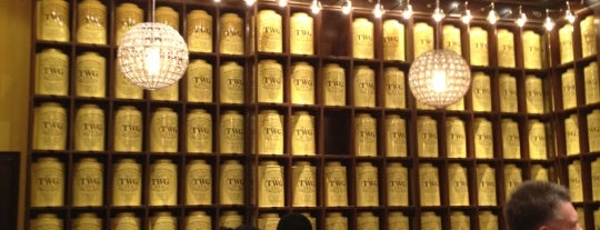 TWG Tea Salon & Boutique is one of Manila Eats.