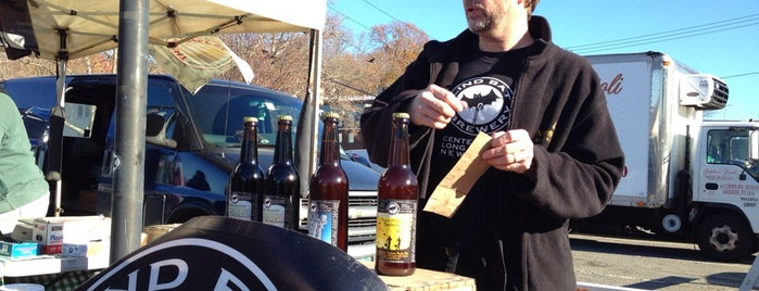 Blind Bat Brewery at Northport Farmers Market is one of LI Breweries.