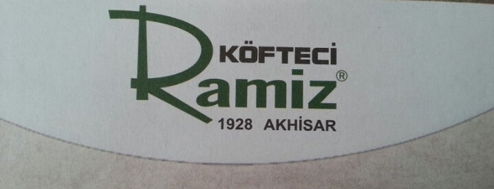 Köfteci Ramiz is one of Lieux qui ont plu à Ebru.