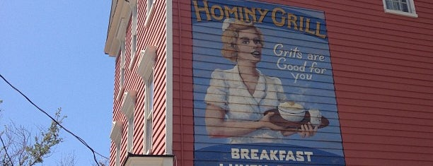 Hominy Grill is one of Charleston recommendations.