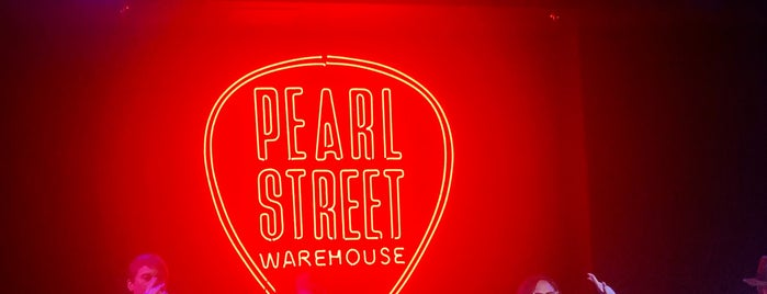 Pearl Street Warehouse is one of Priority date places.