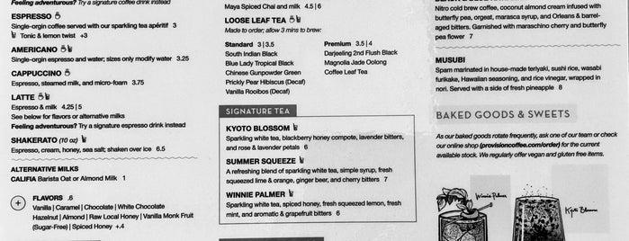 Provision Coffee Bar is one of Arizona.